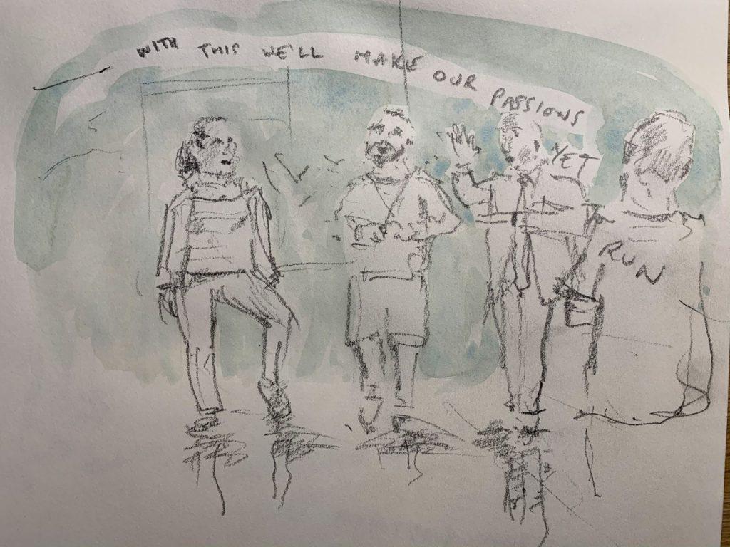 LSW Prison Shakespeare Workout HMP Pentonville